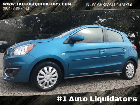 2017 Mitsubishi Mirage for sale at #1 Auto Liquidators in Yulee FL