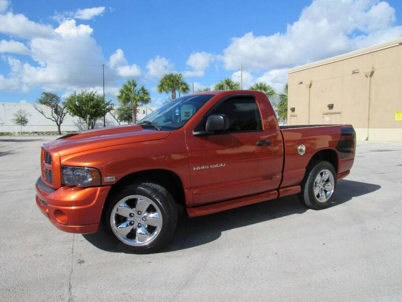 2005 Dodge Ram Pickup 1500 for sale at Easy Deal Auto Brokers in Hollywood FL