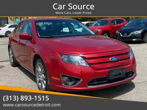 2012 Ford Fusion for sale at Car Source in Detroit MI