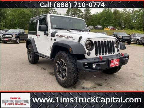 2015 Jeep Wrangler for sale at TTC AUTO OUTLET/TIM'S TRUCK CAPITAL & AUTO SALES INC ANNEX in Epsom NH