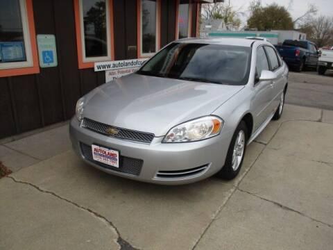 2012 Chevrolet Impala for sale at Autoland in Cedar Rapids IA