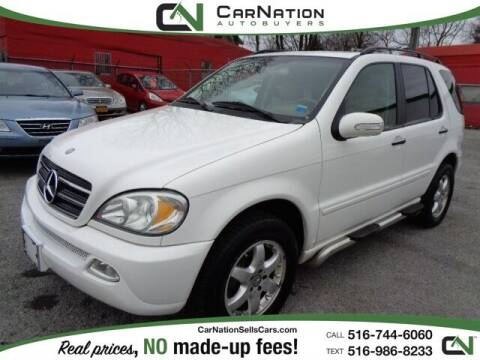 2002 Mercedes-Benz M-Class for sale at CarNation AUTOBUYERS, Inc. in Rockville Centre NY