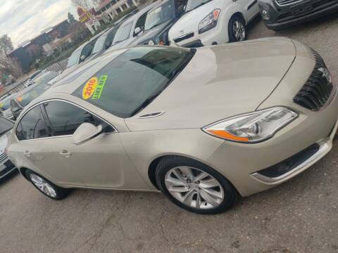 2016 Buick Regal for sale at Sanaa Auto Sales LLC in Denver CO