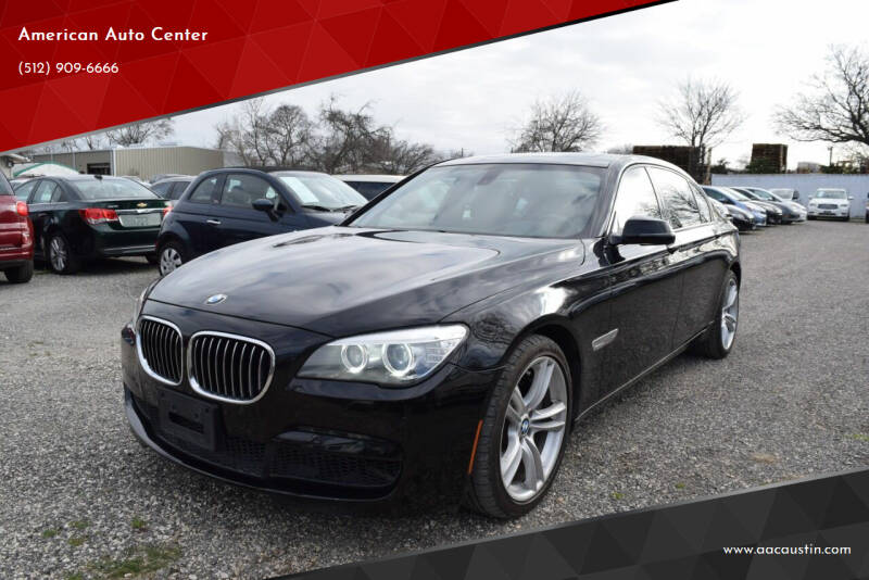 2014 BMW 7 Series for sale at American Auto Center in Austin TX