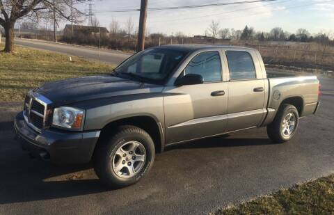 2007 Dodge Dakota for sale at SIMPSON MOTORS in Youngstown OH