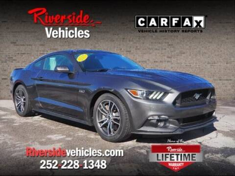 2017 Ford Mustang for sale at Riverside Mitsubishi(New Bern Auto Mart) in New Bern NC