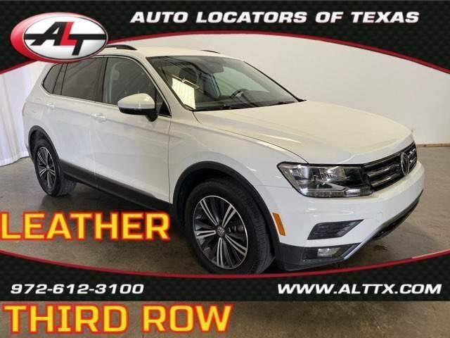 2018 Volkswagen Tiguan for sale at AUTO LOCATORS OF TEXAS in Plano TX