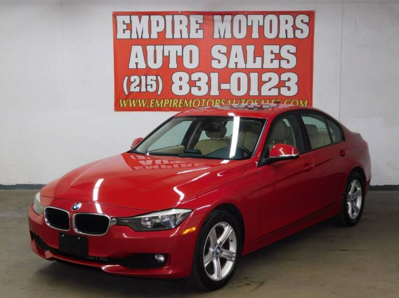 2014 BMW 3 Series for sale at EMPIRE MOTORS AUTO SALES in Philadelphia PA