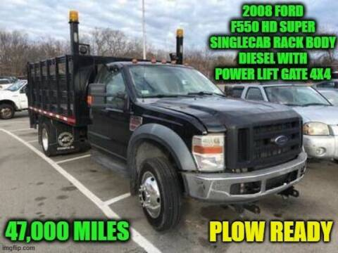 2008 Ford F-550 Super Duty for sale at D&D Auto Sales, LLC in Rowley MA