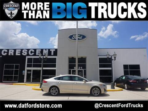 2019 Ford Fusion for sale at Crescent Ford in Harahan LA