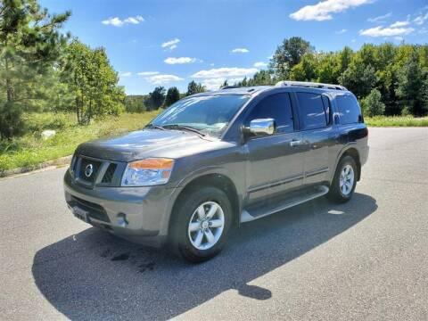 2011 Nissan Armada for sale at Apex Autos Inc. in Fredericksburg VA