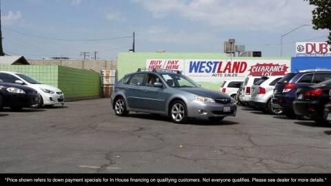 2009 Subaru Impreza for sale at Westland Auto Sales on 7th in Fresno CA