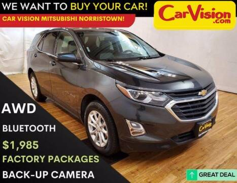 2018 Chevrolet Equinox for sale at Car Vision Mitsubishi Norristown in Trooper PA