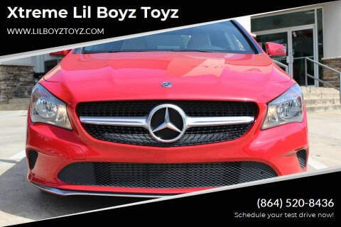 2018 Mercedes-Benz CLA for sale at Xtreme Lil Boyz Toyz in Greenville SC