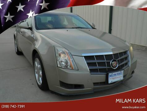2008 Cadillac CTS for sale at MILAM KARS in Bossier City LA