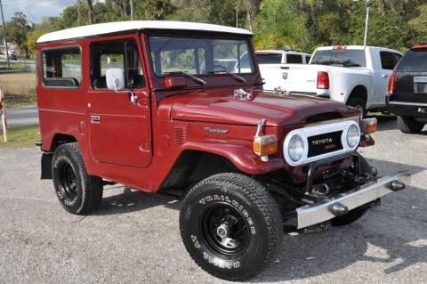 1976 Toyota BJ-40 Land Cruiser for sale at Elite Motorcar, LLC in Deland FL