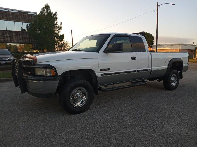 1999 Dodge Ram Pickup 2500 for sale at Affordable Auto Spot in Houston TX