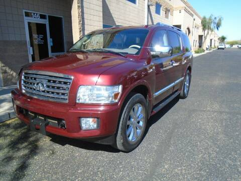 2010 Infiniti QX56 for sale at COPPER STATE MOTORSPORTS in Phoenix AZ