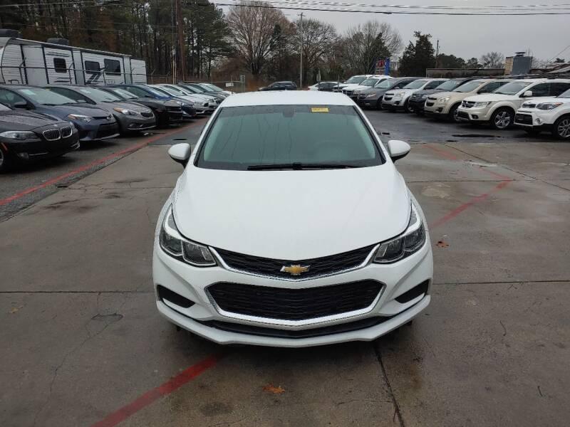 2017 Chevrolet Cruze for sale at Adonai Auto Broker in Marietta GA