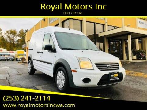 2013 Ford Transit Connect for sale at Royal Motors Inc in Kent WA