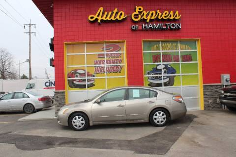 2012 Nissan Altima for sale at AUTO EXPRESS OF HAMILTON LLC in Hamilton OH