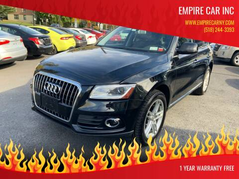 2017 Audi Q5 for sale at EMPIRE CAR INC in Troy NY