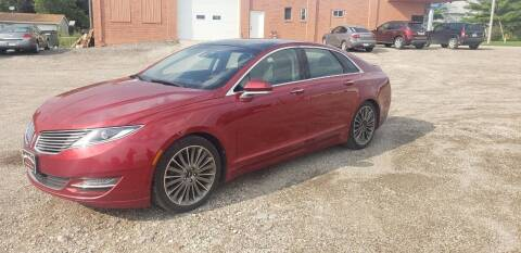 2015 Lincoln MKZ for sale at BROTHERS AUTO SALES in Eagle Grove IA