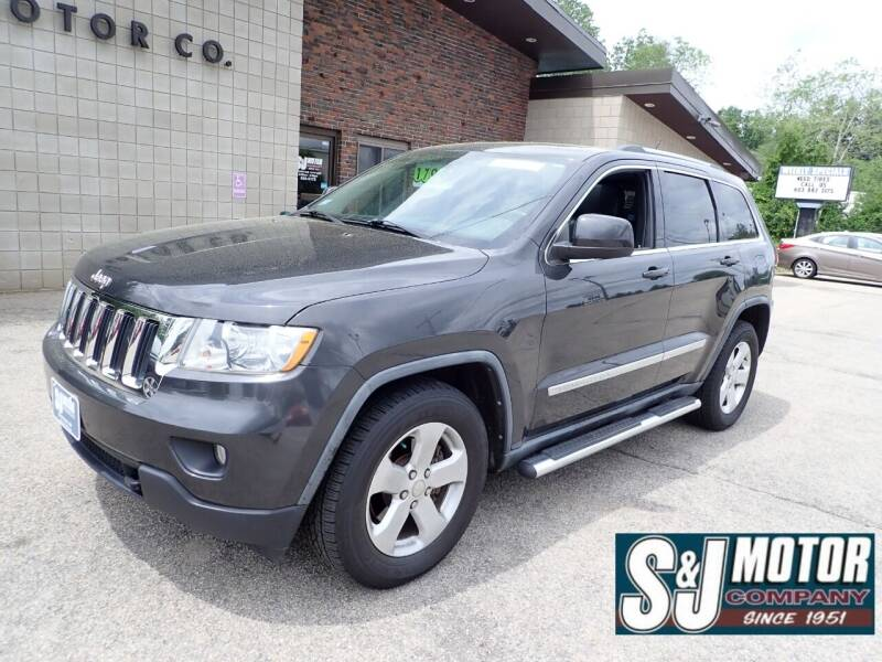 2011 Jeep Grand Cherokee for sale at S & J Motor Co Inc. in Merrimack NH