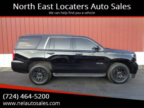 2017 Chevrolet Tahoe for sale at North East Locaters Auto Sales in Indiana PA
