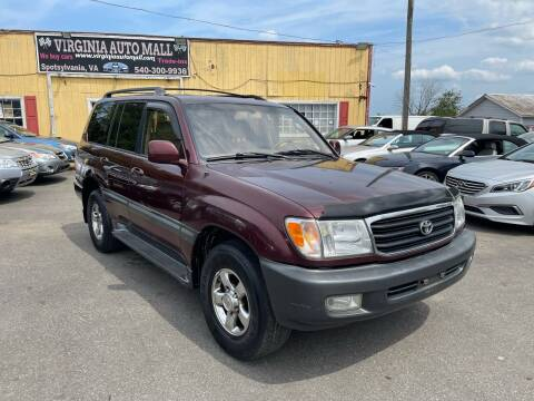2001 Toyota Land Cruiser for sale at Virginia Auto Mall in Woodford VA