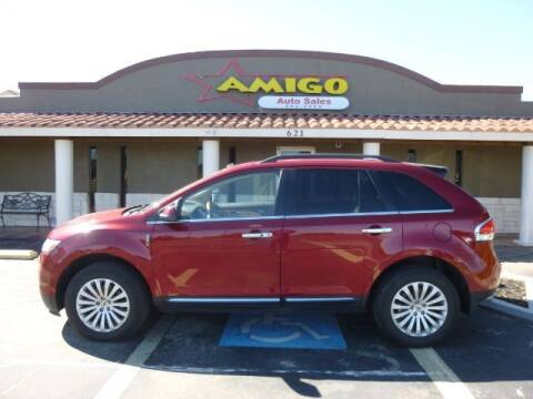 2013 Lincoln MKX for sale at AMIGO AUTO SALES in Kingsville TX