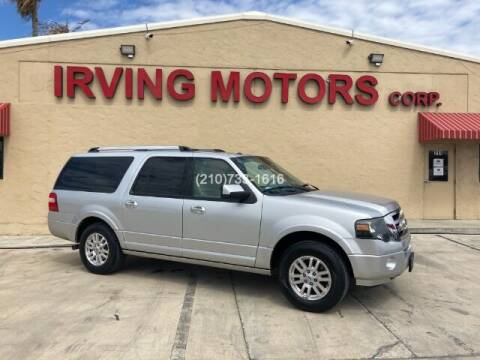 2014 Ford Expedition EL for sale at Irving Motors Corp in San Antonio TX