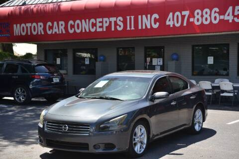 2011 Nissan Maxima for sale at Motor Car Concepts II - Apopka Location in Apopka FL