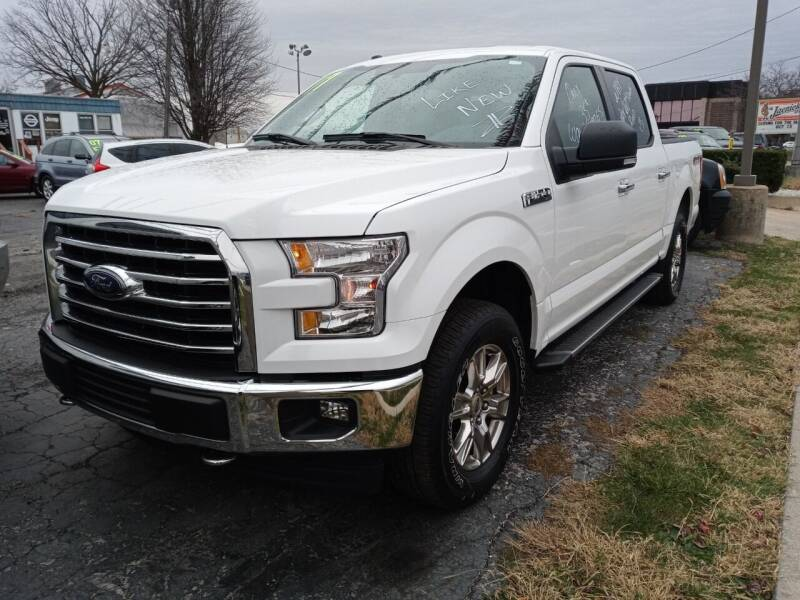 2017 Ford F-150 for sale at Arak Auto Group in Bourbonnais IL