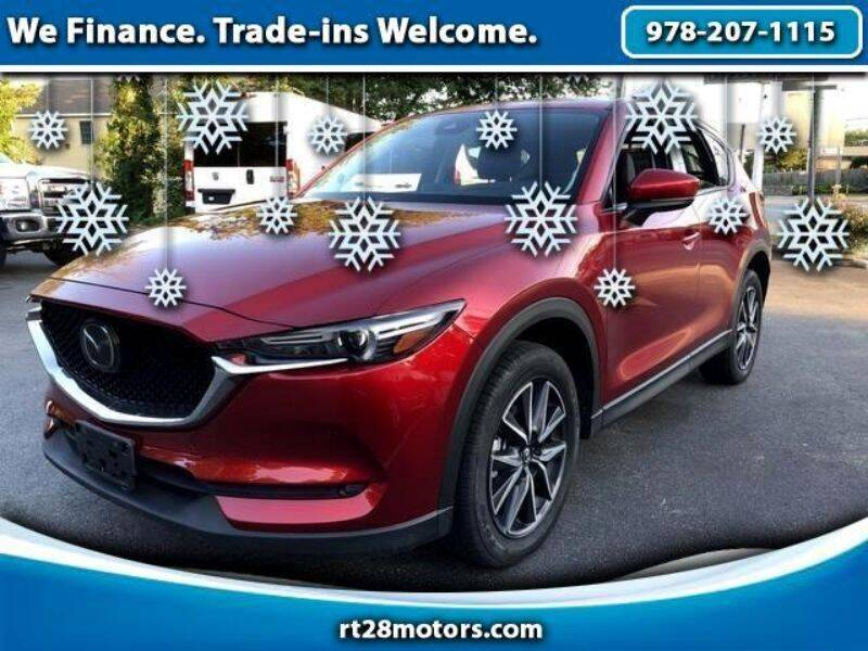 2017 Mazda CX-5 for sale at RT28 Motors in North Reading MA