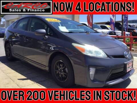 2013 Toyota Prius for sale at CARCO SALES & FINANCE #2 in Chula Vista CA