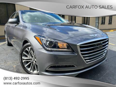 2015 Hyundai Genesis for sale at Carfox Auto Sales in Tampa FL