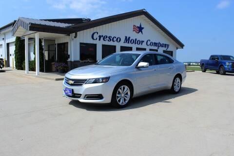 2018 Chevrolet Impala for sale at Cresco Motor Company in Cresco IA