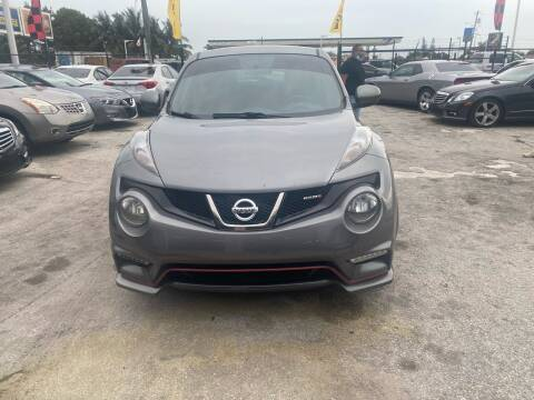 2012 Nissan JUKE for sale at America Auto Wholesale Inc in Miami FL
