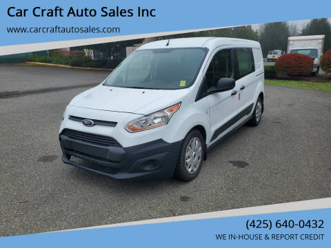 2014 Ford Transit Connect Cargo for sale at Car Craft Auto Sales Inc in Lynnwood WA
