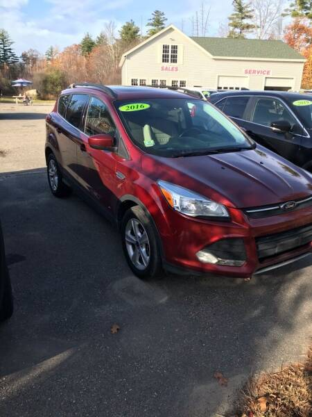 2016 Ford Escape AWD SE 4dr SUV - Brentwood NH