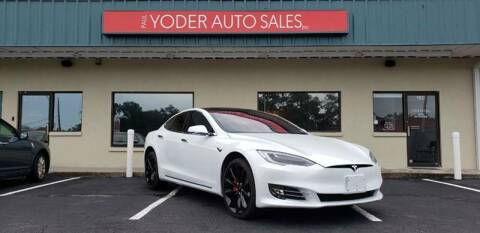 2017 Tesla Model S for sale at PAUL YODER AUTO SALES INC in Sarasota FL