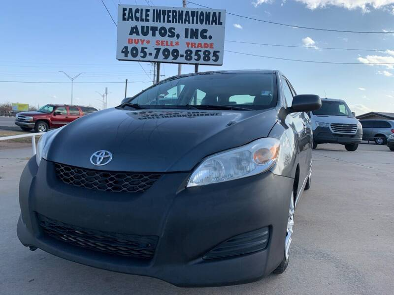 2012 Toyota Matrix for sale at Eagle International Autos Inc in Moore OK