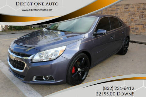 2015 Chevrolet Malibu for sale at Direct One Auto in Houston TX