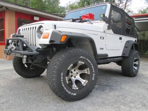 2004 Jeep Wrangler for sale at Auto Liquidators of Tampa in Tampa FL