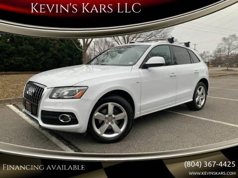 2012 Audi Q5 for sale at Kevin's Kars LLC in Richmond VA