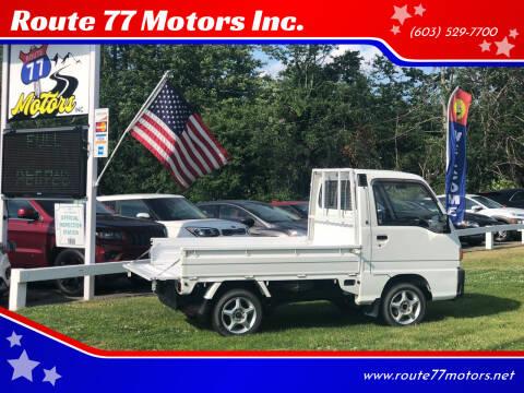 1998 Subaru Sambar for sale at Route 77 Motors Inc. in Weare NH