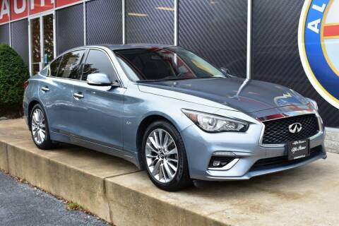2018 Infiniti Q50 for sale at Alfa Romeo & Fiat of Strongsville in Strongsville OH