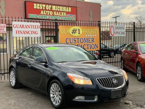 2013 Buick Regal for sale at Best of Michigan Auto Sales in Detroit MI