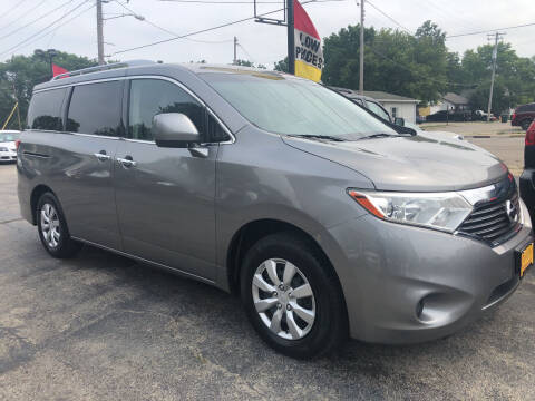 2012 Nissan Quest for sale at COMPTON MOTORS LLC in Sturtevant WI